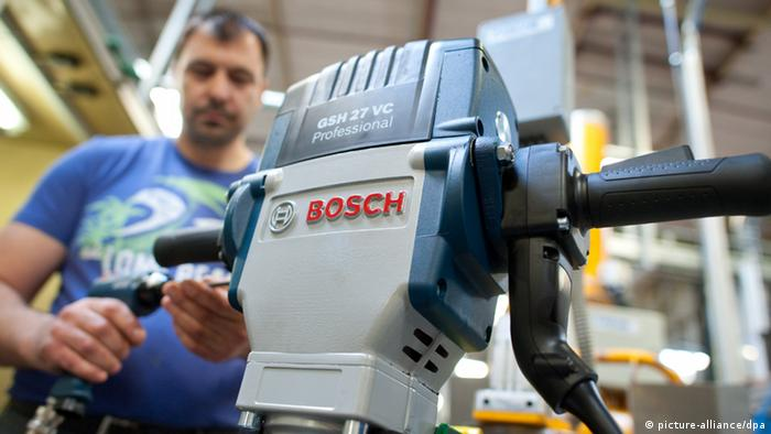 Bosch Werk in Leinfelden-Echterdingen (picture-alliance/dpa)