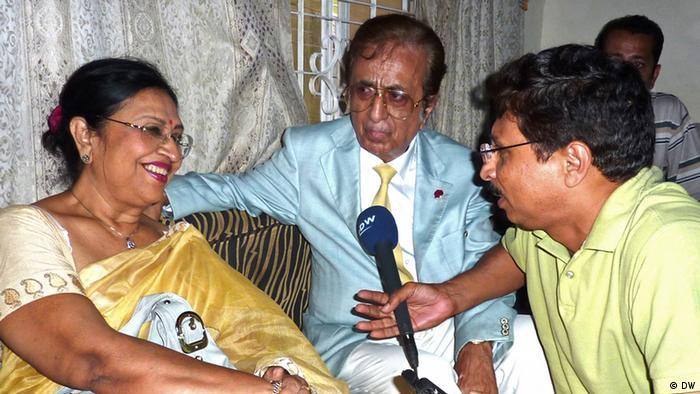 Bangladesch pakistanische Schauspielerin Shabnam in Karachi (DW)