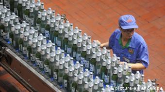 China Stadt Quingdao Bierproduktion Tsingtao