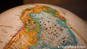 Globus Südamerika