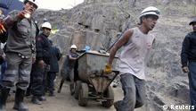Goldbergbau in Peru
