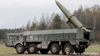 Soon to be stationed on the EU border? Short-range Iskander missiles
