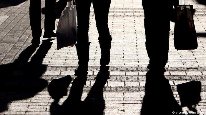 Пешеходы с сумками