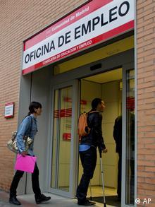 Spanien Arbeitslosigkeit Arbeitsamt