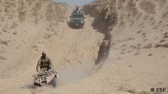 KSK тренирует афганских полицейских