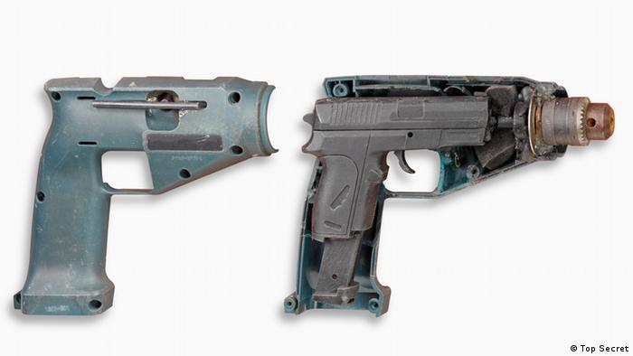 Пистолет, спрятанный в дрели. ГДР, 1986 г.