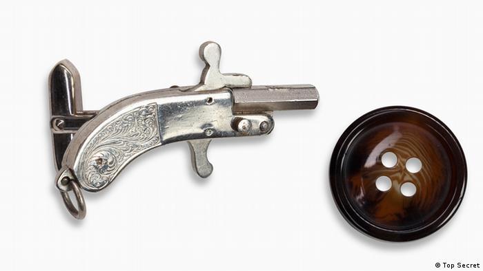 Пистолет-запонка. Австрия