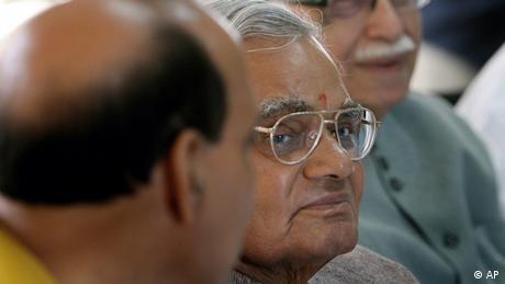 Atal Bihari Vajpayee Indien ehemaliger Premierminister (AP)