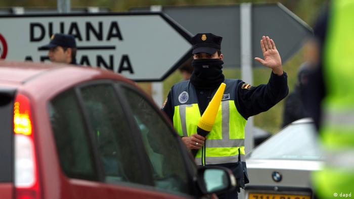 Spanien führt wieder Grenzkontrollen ein
