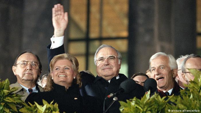 Helmut Kohl in Berlin 3. Oktober 1990