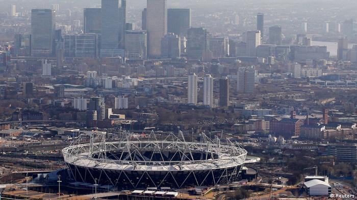 Skyline Olympiapark London (Foto: Reuters)