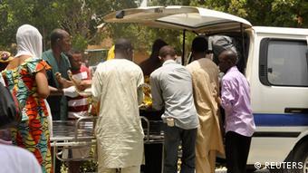 Opfer des Anschlags auf die Bayero Universität Kano (Foto:Reuters)