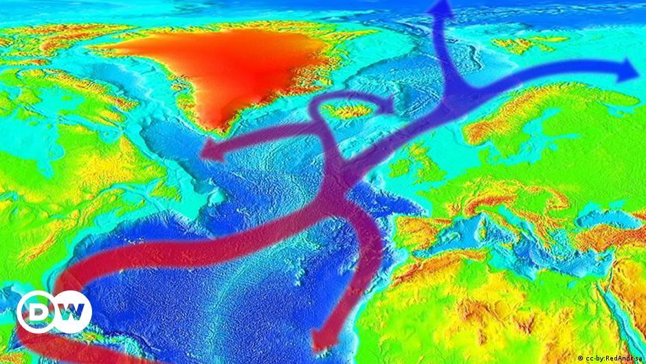 Golfstrom-Abschwächung bedroht das nordatlantische Klimasystem