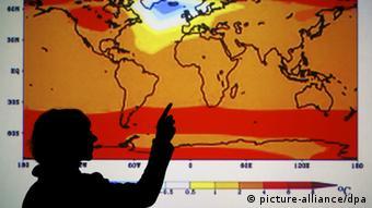 Diferentes projeções de aquecimento foram combinadas na pesquisa
