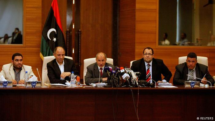 Der libysche Nationale Übergangsrat (Foto: Reuters)