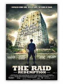Das Plakat zum Film The Raid: Redemption