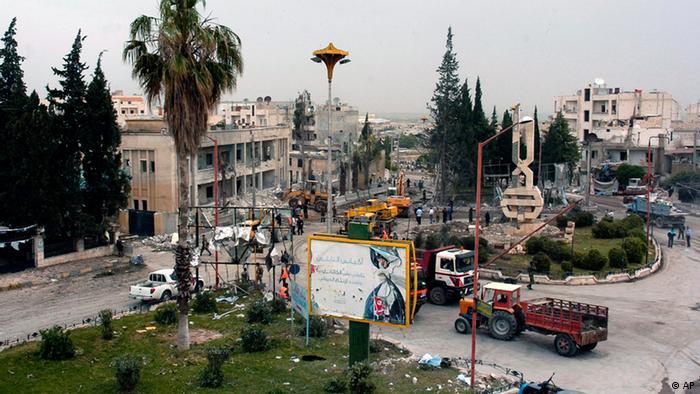 Anschlag Idlib Syrien (AP)