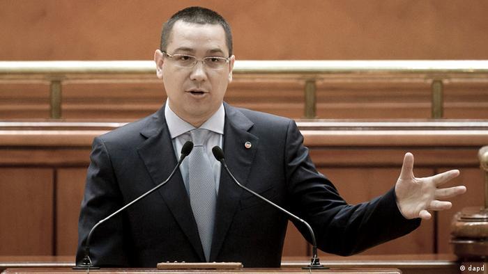Opposition leader Victor Ponta