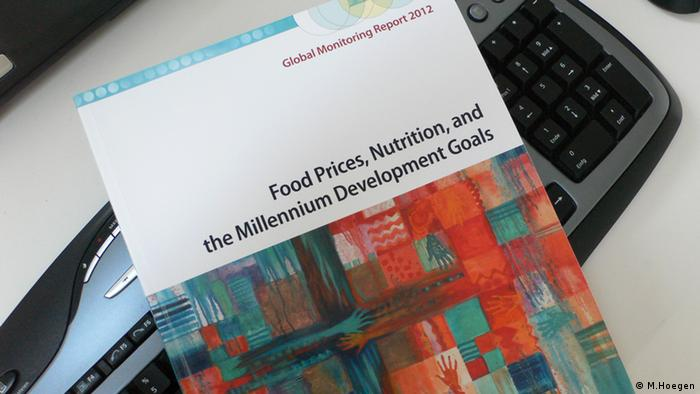 MDG Global Monitoring Report 2012