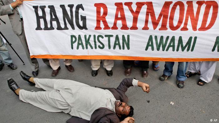 Pakistan inhaftierter US Diplomat Raymond Allen Davis