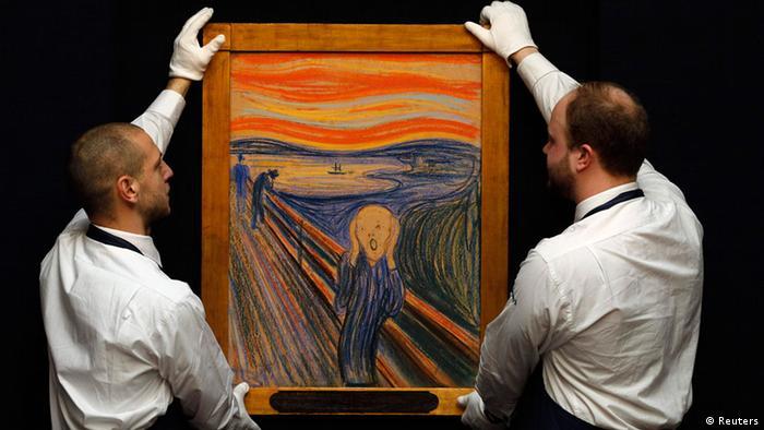 Bildergalerie Kunstwerke Edvard Munch Der Schrei