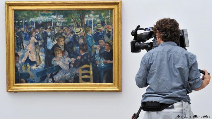 Pierre Auguste Renoir Bal du Moulin de la Galette (picture-alliance/dpa)