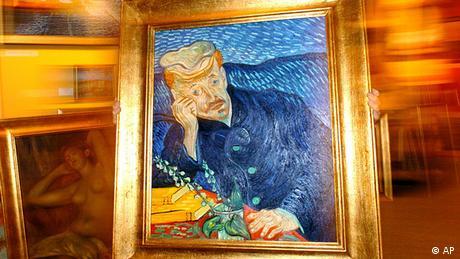 Vincent van Gogh's Portrait of Dr. Gache (AP)
