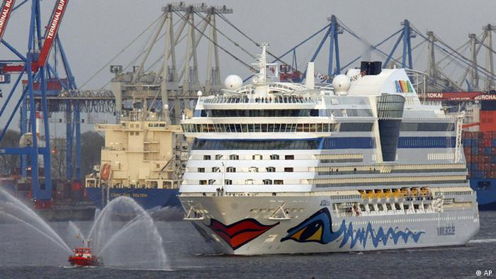 Deutscher Schiffbau Aida (AP)