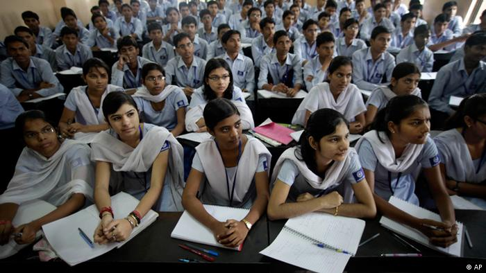 ** ADVANCE FOR USE ON SUNDAY, OCT. 24, 2010 AND THEREAFTER ** In this Thursday, Aug. 5, 2010 photograph, students attend a class at a cram school in Kota, India. Every year, more than 450,000 students take the Indian Institutes of Technology (IIT) exam, hoping for entry to the hallowed public engineering institutes located across India. Slightly more than 13,000 passed in 2010, a 3 percent success rate. (ddp images/AP Photo/Saurabh Das)