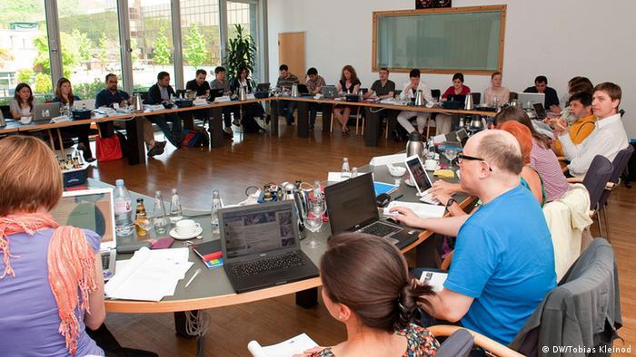 نشست هیئت داوران در برلین در اول مه ۲۰۱۲