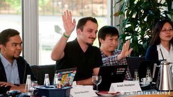 Bobs-Jurysitzung in Berlin 2012 (Foto: DW)