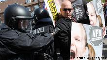 Nazi Demo Neumünster 1. Mai 2012