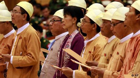 Amtseid Suu Kyi Birma