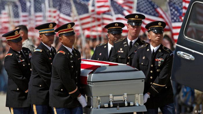 Beerdigung von im Irak gefallenen US-Soldaten