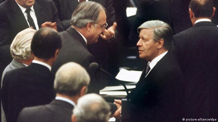 Deutschland 60 Jahre Kapitel 4 1979 – 1989 Helmut Kohl wird Kanzler