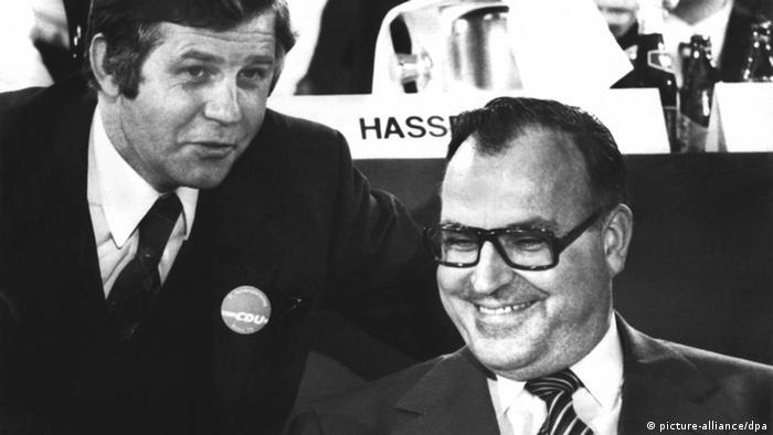 CDU-Vorsitzender Helmut Kohl 1973