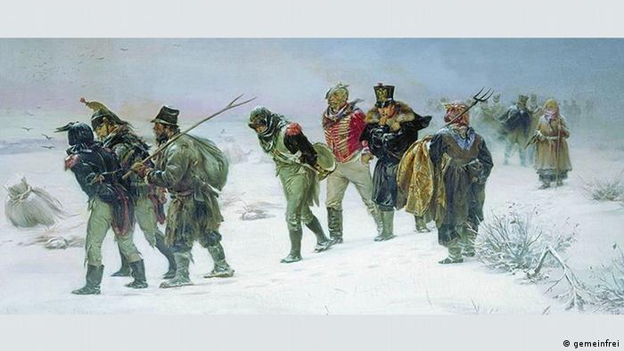 Илларион Прянишников. ''Французы в 1812 году, плененные партизанами''