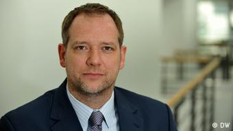 Κάρστεν φον Νάμεν, επικεφαλής της διεύθυνσης ειδήσεων της DW