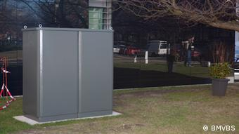 Stationäre Hausbatterie (Foto: BMVBS)
