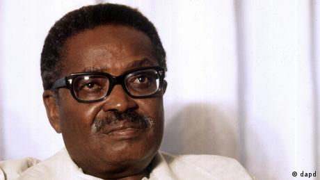 Agostinho Neto, presidente de Angola de 1975 a 1979