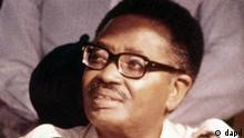 Agostinho Neto Staatspräsident von Angola von 1975 bis 1979