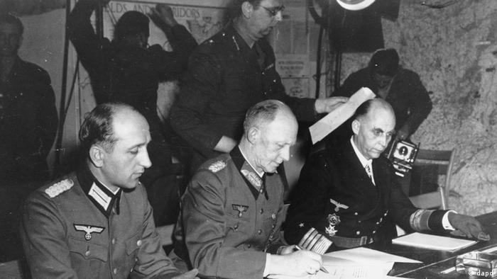 60 Jahre Danach Kapitulation