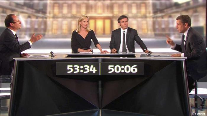 مناظره تلویزیونی سارکوزی و اولاند