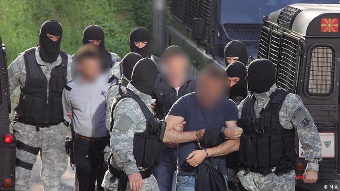 Hapšenje islamističkih terorista u Skoplju 2012.