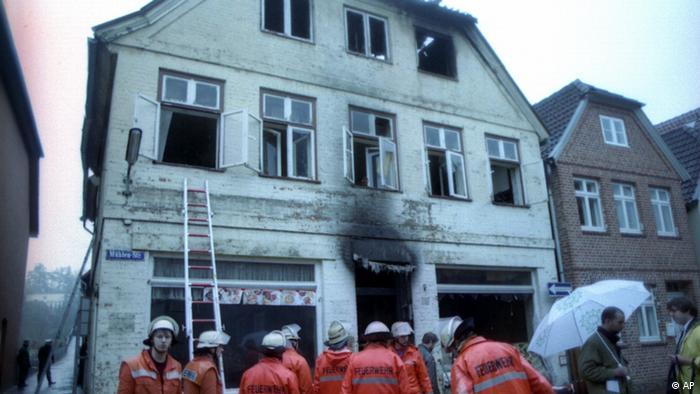 Deutschland Mölln Anschläge 1992 (AP)