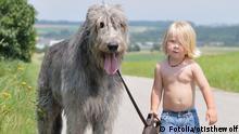 Kind mit Hund