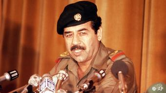 Saddam Hussein. (ddp images/AP Photo)