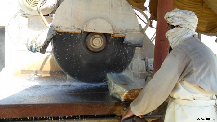 Afghanistan Marmorfabrik