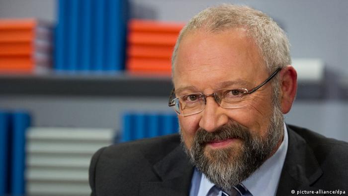 Herfried Münkler , aufgenommen am 09.10.2010 auf der 62. Frankfurter Buchmesse in Frankfurt am Main.