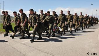 Bundeswehr Kosovo Force-Truppen KFOR 2012
